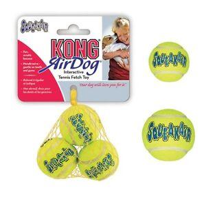 AIR Tennis Ball Bulk Heavy Duty Dog Toys that Squeak - Choose Size & Quantity