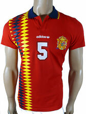 Adidas Spain Shirt Retro Jersey Kit FEF E12 Size M