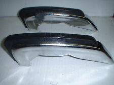 1968 Dodge Monaco And Polara Rear Bumper Guards MOPAR NOS Part# 2932213 w/box