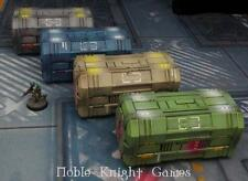 Micro Art Terrain 28mm Tech Containers Pack MINT