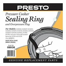 Presto 09936 Pressure Cooker Sealing Ring Gasket Original Genuine