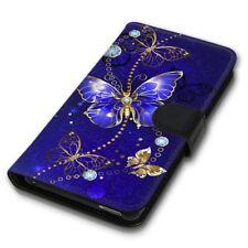 F. Huawei  P10 Plus / Blauer Schmetterling Handy Tasche Hülle