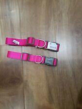 2 Boots & Barkley Adjustable  Dog Collar pink New