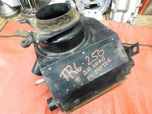 Triumph TR6, TR250, Smiths Heater Box & Core, Original, !!