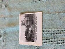 m89b ephemera 1950s small picture serridge junction signal box railcar