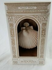 """Madonna Of The Flowers 6 1/4"""" Margaret Furlong Shell Angel in Box No Stand"""