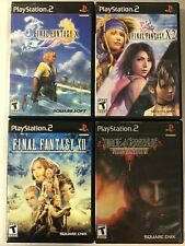 Final Fantasy games (Sony Playstation 2) Ps2 Tested
