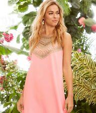 9e8f424162e New Lilly Pulitzer Pearl Soft Shift Women sleeveless Dress coral pink $178