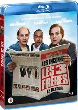 Blu-ray : Les 3 (trois) Frères : Le retour  [ Les Inconnus ]  NEUF cellophané