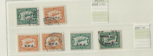 SOUTH AFRICA- SOUTH WEST AFRICA-AIR MAIL ISSUES-MINT-USED-VF-#201