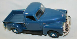 1950 Chevrolet pick up blue excellent condition toy dealer promo friction