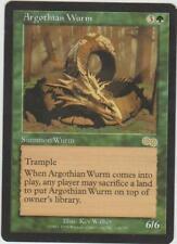 ►Magic-Style◄ MTG - Argothian Wurm / Guivre argothienne - Urza's Saga - EX