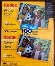 New! Kodak Heavyweight Premium Photo Paper, 4 x 6 Inches, High Gloss, 100 sheets