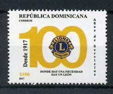 Dominican Republic 2017 MNH Lions Club International 100th Anniv 1v Set Stamps