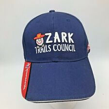 Boy Scout Blue Cap Hat Ozark Trails Council Missouri Camp Arrowhead Strapback