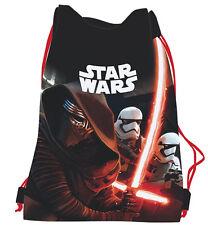 Star Wars Episode 7 Kylo Ren Stormtrooper Shoe Bag Drawstring Swim Gym PE Sports