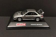 Real-X 1/72 Scale SUBARU IMPREZA Diecast Car Model Grey