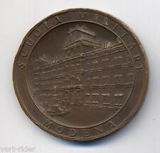 MEDAGLIA  bronzo Accademia MIlitare MODENA 1968 ventennale 3-4-5 corso Ufficiali