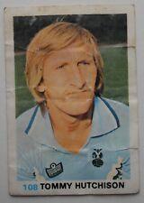 FKS Soccer Stars 1977-1978 NUMBER 108 TOMMY HUTCHISON