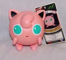 "New Wth Tag Pokemon Jigglypuff 4"" Plastic Figure Tomy"