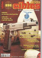 CIBLES N°292 LLMA IXC / SEGURIDAD 410 ARGENTIN / MUNITION POLICE HIRTENBERG