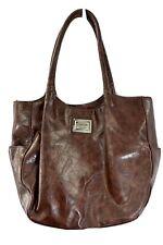 Nicole Miller Large Tote Brown Shoulder Bag Purse