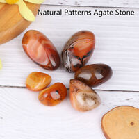 1Pc Natural Beautiful Patterns Banded Agate Madagascar Mineral Specimens St ty