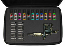 DURAGADGET Customisable Black Hard Carry Case for Tattoo Equipment