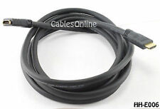 6 ft. HDMI Extension Cable / Cord, 24 AWG, CL2, M to F