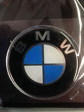 Adesivo stemma logo copri mozzo ruota ruote cerchione resina morbida 3D BMW