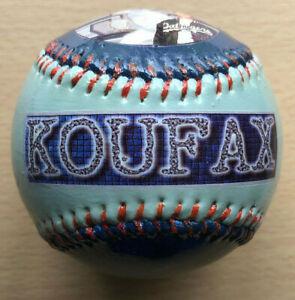SANDY KOUFAX CUSTOM PAINTED LOS ANGELES DODGERS BASEBALL