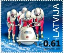 Latvia Lettland  2018.Bobsleigh.XXIII Olympic Winter Games. PyeongChang MNH