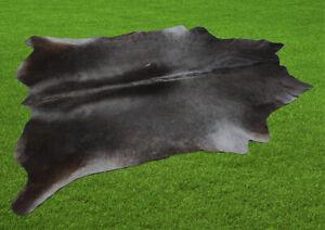 "New Cowhide Rugs Area Cow Skin Leather 24.50 sq.feet (63""x56"") Cow hide U-7032"