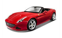BURAGO 1:18 RACE&PLAY AUTO FERRARI CALIFORNIA T OPEN TOP ROSSA  ART 18-16007