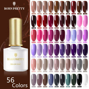 189 Colors BORN PRETTY UV Gel Nail Art Polish Soak Off Top Base Coat Gel Nails