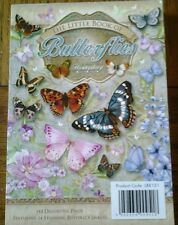 24 A6 TOPPERS FROM HUNKYDORY -  THE LITTLE BOOK OF BUTTERFLIES