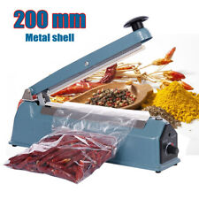 More details for 300w 8'' impulse heat sealer plastic bag film sealing machine metal shell uk