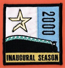 2000 Houston Astros Inaugural Season At Enron Field Official Jersey Patch