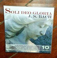 Bach J S: Soli Deo Gloria/Various (10-CD, Dec-2008, Membran)
