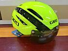 Giro Air Attack Shield - Highlight Yellow/Black - Aero Cycling Helmet