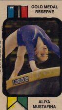 Aliya Mustafina - Gold Medal Reserve - Spot The Winner Card