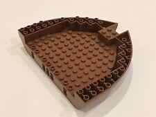 LEGO Pirates Reddish Brown Boat Hull Brick 16x13x2 - P/N 64651 NEW (BB1A)