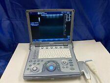 Ge Logiq E Portable Ultrasound Machine With 1 Probe 12l Manufactured 2010