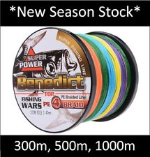 *15% OFF* 300m, 500m, 1000m BENEDICT Fishing Line PE Braid Spectra Dyneema