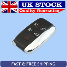 5 Buttons Remote Car Key Case Fob Shell For LAND ROVER LR4 RANGE EVOQUE SPORT