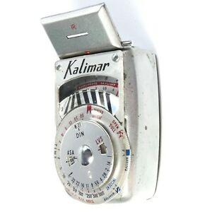 KALIMAR Model A-1 Light meter for Photographers using any type of Camera.