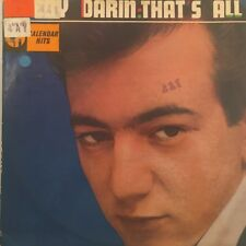 """BOBBY DARIN - """"That's All"""" (Mack The Knife + 11) 1959 Australia Calendar"""
