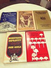 L👀K Lot of 5 Vintage Cookbooks Various Topics & Themes