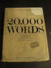20,000 Words: Spelled and Divided for Quick Refere