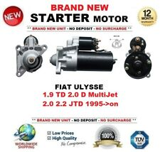 FOR FIAT ULYSSE 1.9 TD 2.0 D MultiJet 2.0 2.2 JTD 1995-> STARTER MOTOR 11Teeth